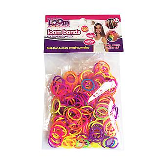 Friendship Loom: Loom Bands Neon