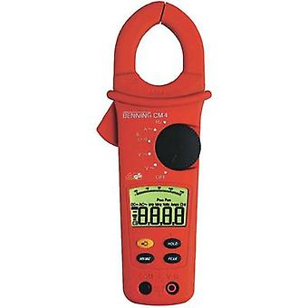 Current clamp, Handheld multimeter digital Benning CM 4 Calibrated to: Manufacturer standards CAT III 600 V Display (co