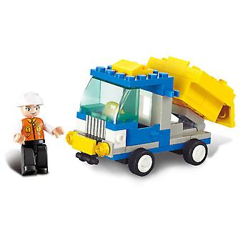 Sluban Town Garbage Truck (Kinderen , Speelgoed , Constructie , Vehicles and ships)