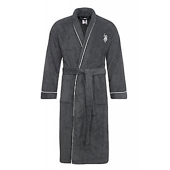 U.S. POLO ASSN. Coat men's bathrobe grey 103 43331 51934 188