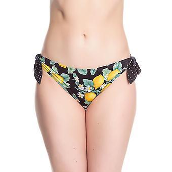 Hell Bunny Lemonade Bikini Bottoms S