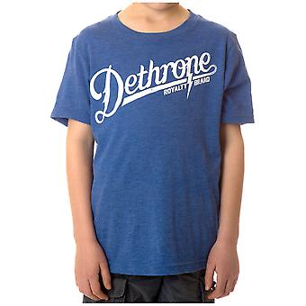 Dethrone Kid's Bolt Camp T-Shirt - Royal Heather