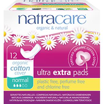 Natracare Extra standard with ultra pad wings 12 pcs bio