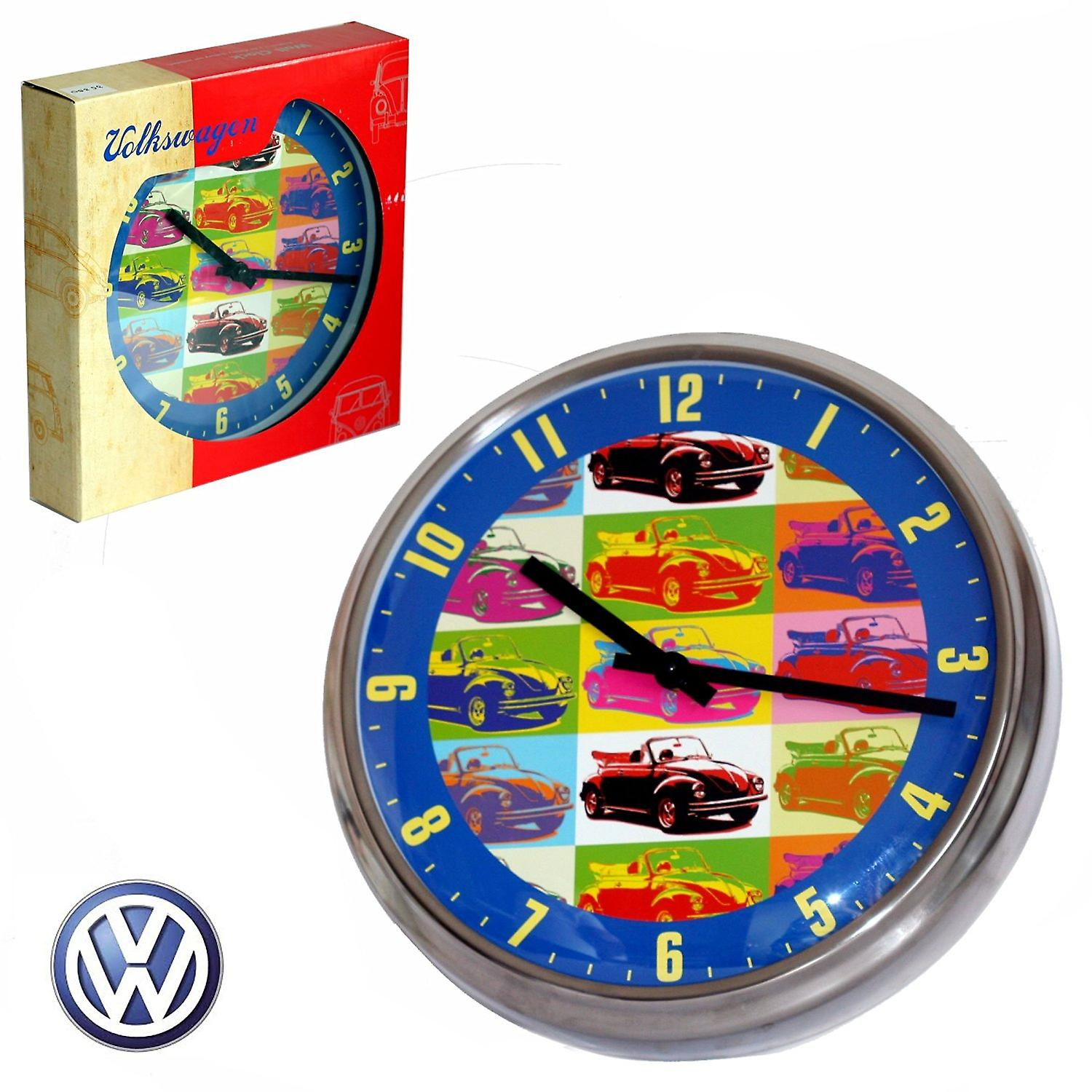 Official Classic VW Beetle Car Large Wall Clock