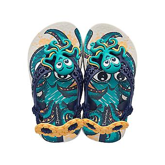Ipanema Sea Baby Octopus Infant Sandals - Beige and Blue