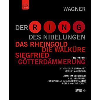 Der Ring Des Nibelungen [BLU-RAY] USA importerer