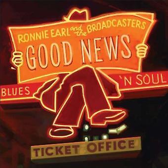 Ronnie Earl & tv-stationer - gode nyheder [CD] USA importerer