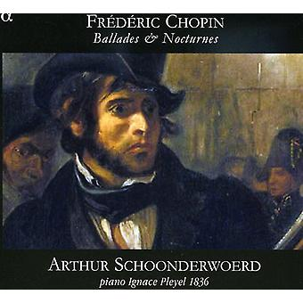 F. Chopin - Chopin: Ballades & Nocturnes [CD] USA import