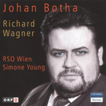 Johan Botha - Johan Botha sjunger Richard Wagner [CD] USA import