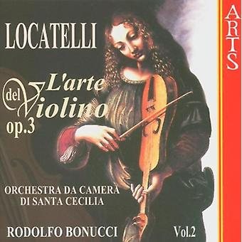 P. Locatelli - Locatelli: L'Arte Del Violino, Op. 3, Vol. 2 [CD] USA import