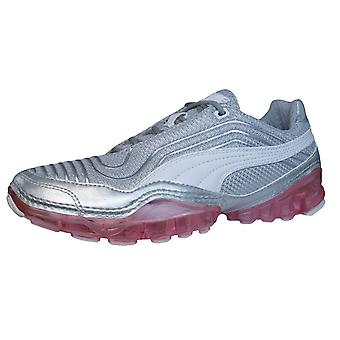 Puma Cell Meio Womens Running Trainers / Shoes - Silver