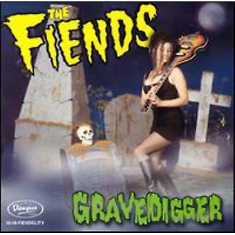 Fiends - Gravedigger [CD] USA import