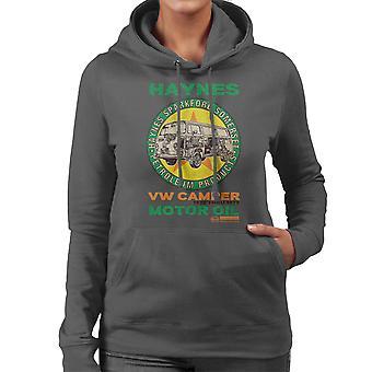 Haynes Marke VW Camper Motoröl Damen Sweatshirt mit Kapuze