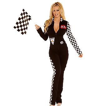 Elegant Moments EM-9446 2 PC Sexy Race Car Driver Costume