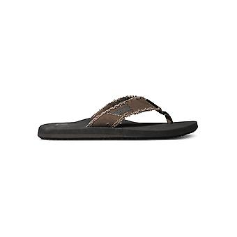 Quiksilver Monkey Abyss Sandals - Demitasse Solid