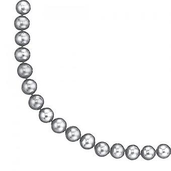 SWZP necklace freshwater pearl necklace grey Pearl Necklace 925 sterling silver