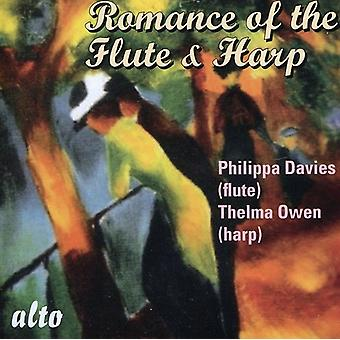 Philippa Davies & Thelma Owen - The Romance of the Flute and Harp [CD] USA import