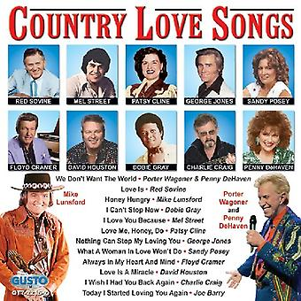 Country Love Songs - Country Love Songs [CD] USA import