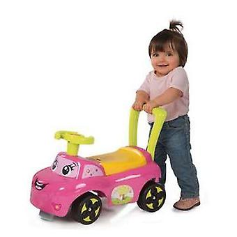 Smoby Pink Auto (Toys , Preschool , Babies , Baby Walkers)