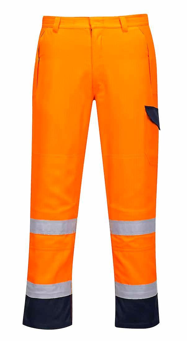 Portwest - Modaflame RIS Hi-Vis Safety Workwear Trouser