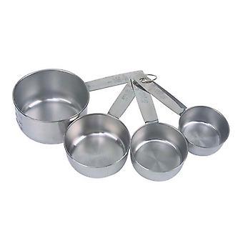 Dexam rustfrit stål måling kopper
