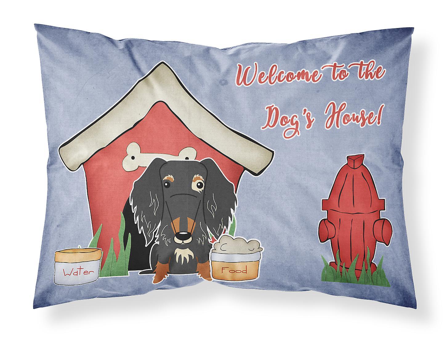 House Teckel D'oreiller Collection Poil Dog Standard Tissu Fil Tigre Taie LqzMVpGSU