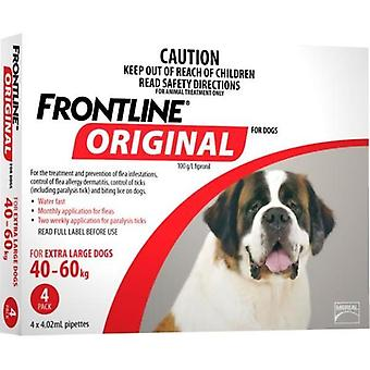Frontline originele 4 Pack X-grote hond