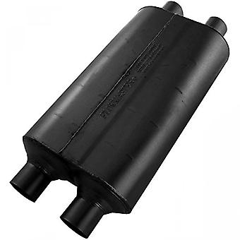 Flowmaster 524554 Super 50 Muffler - 2.25 Dual IN / 2.25 Dual OUT - Moderate Sound