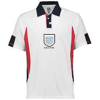 Score trekke England 1998 hjem skjorte