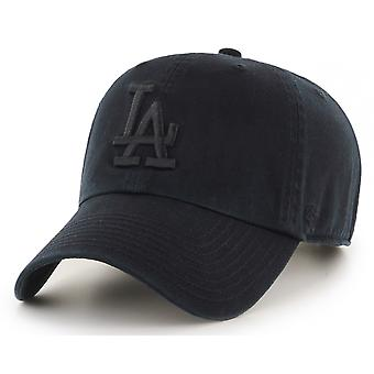 47 Brand MLB LA Dodgers Clean Up Cap - Black