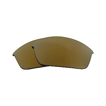 FLAK JACKET gepolariseerde lenzen accessoires Kit Gold Mirror Red door SEEK past OAKLEY