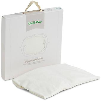 The Little Green Sheep Organic Jersey Fitted Sheet For Cot/Crib/Moses Basket