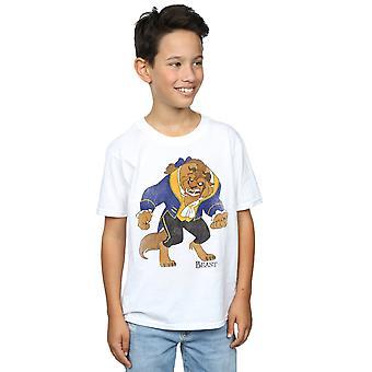 ディズニー男の子美女と野獣古典的な獣 t シャツ