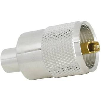 UHF connector Plug, straight 50 Ω SSB Aircell 5 1