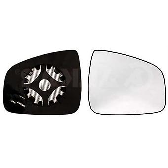 Right Mirror Glass (heated) & Holder For RENAULT LOGAN 2008-2012