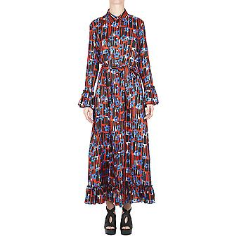 Jucca ladies J2717046 multicolor viscose dress