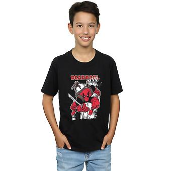 Marvel Boys Deadpool Max T-Shirt
