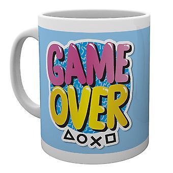PlayStation Game Over mok