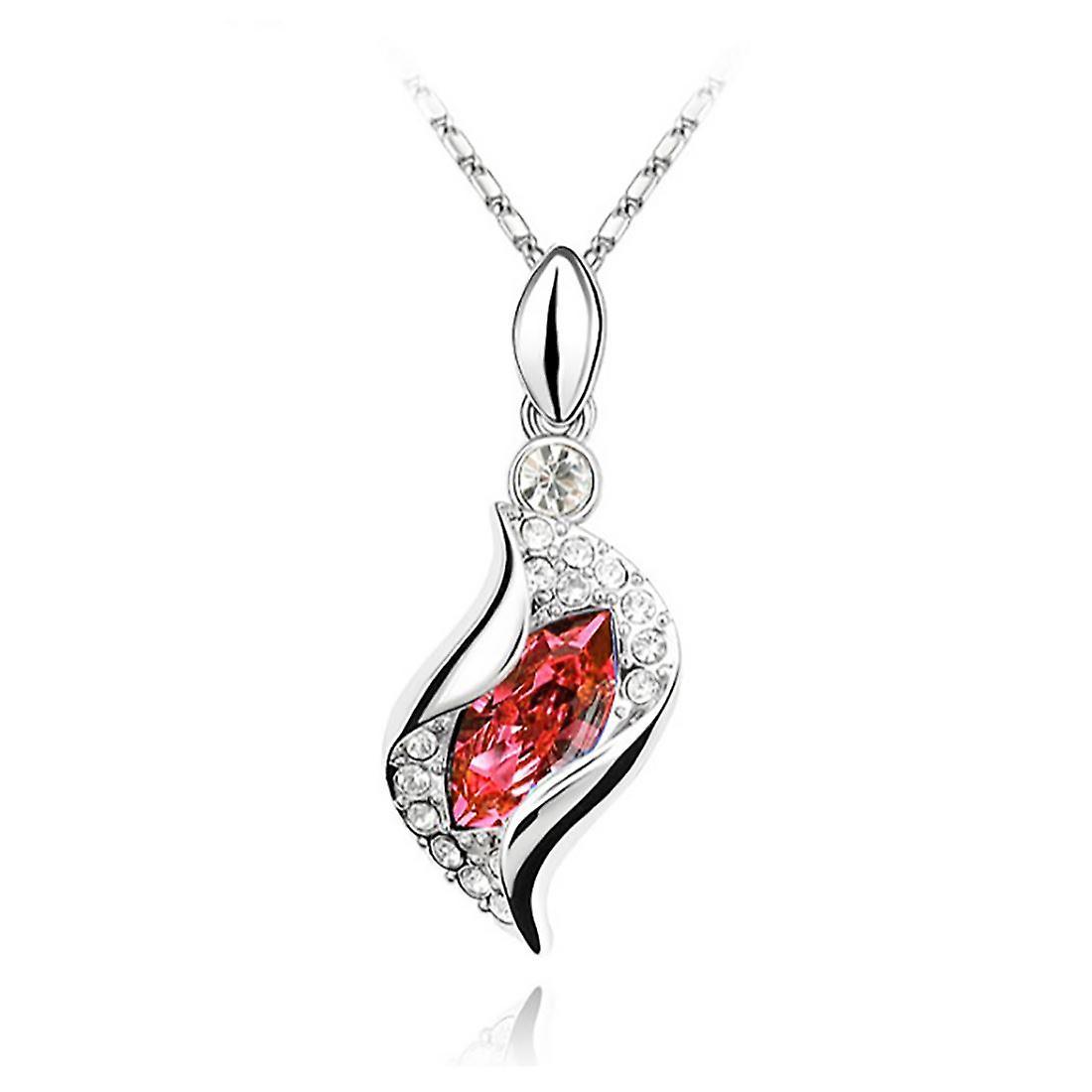 女性の美しい火オレンジ水晶のネックレス ・ イヤリング ジュエリー セット BGCW0065