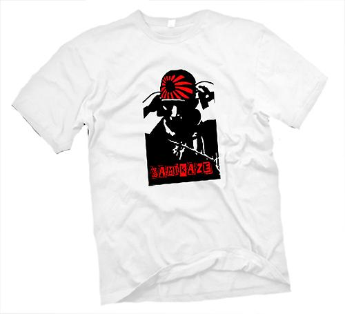 Hombres camiseta-japonés piloto Kamikaze