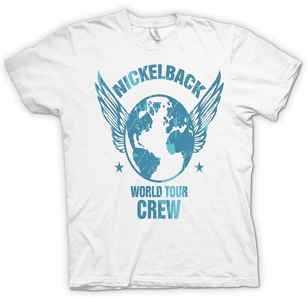 Womens T-shirt - Nickelback World Tour Crew