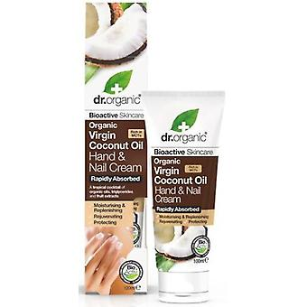 Dr. Organic Virgin Coconut Oil Hand and Nail Cream