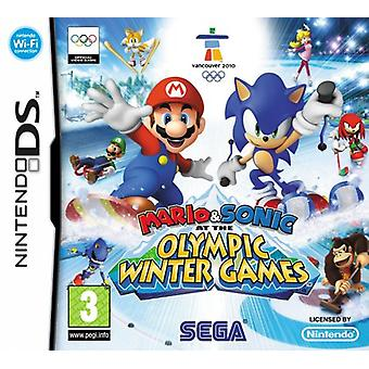 Mario Sonic at the Olympic Winter Games (Nintendo DS)