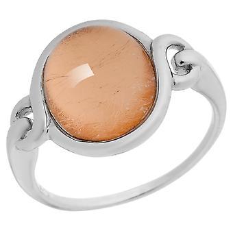 Orphelia Silver 925 Ring ovaal Rose blad ZR-6040/1
