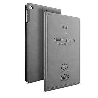 Design taske Backcase smart cover grå til Apple iPad air 1 / 2 air taske ny