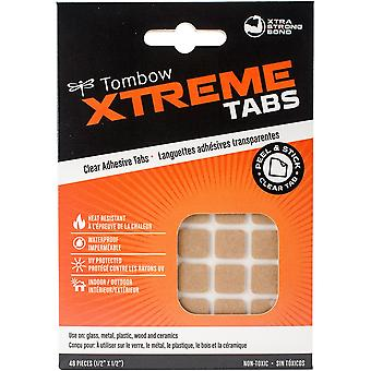 Xtreme Adhesive Tabs-Clear .5
