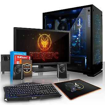 Feroce APACHE PC Gaming, veloce processore Intel Core i5 8500 4.1 GHz, 1 TB SSHD, 8 GB di RAM, GTX 1060 3 GB