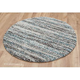 Equatore Teal cerchio tappeto