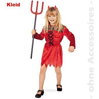 Satansbraten crianças Devil traje diabo Satanás demônio vestido de criança