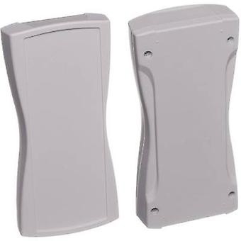 Hand-held casing 209.3 x 98 x 34.8 Plastic Light grey (RAL 7035) Bopla BOS STREAMLINE BS 400 F-7035 1 pc(s)